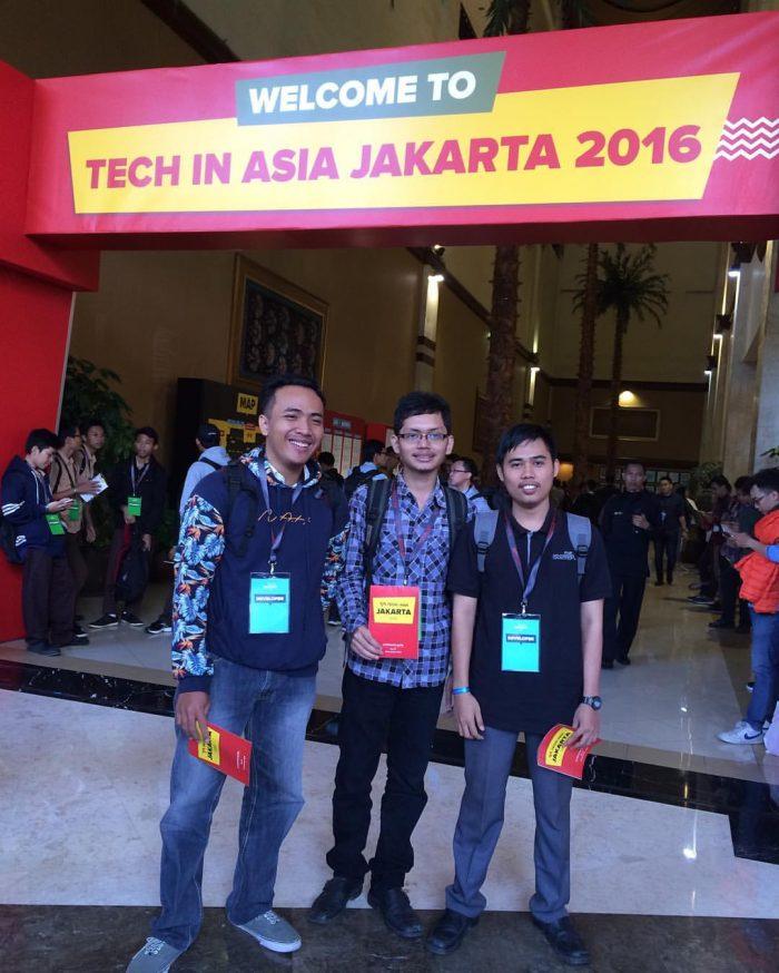 Abraham (Mascode.id) - Dwi Randy (Software House Lampung) - Arief Adjie